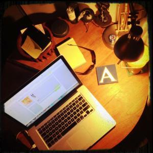 Martina's Desk